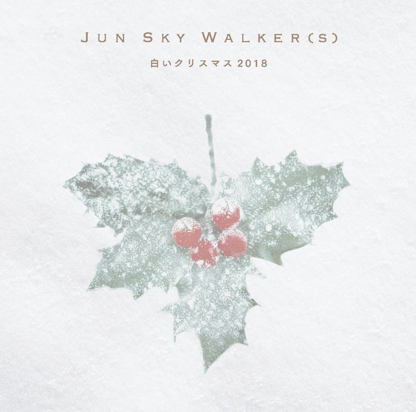 JUN SKY WALKER(S)「白いクリスマス2018」